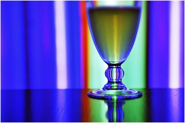 Glass of beer, Gran Lux, Saint-Etienne, France