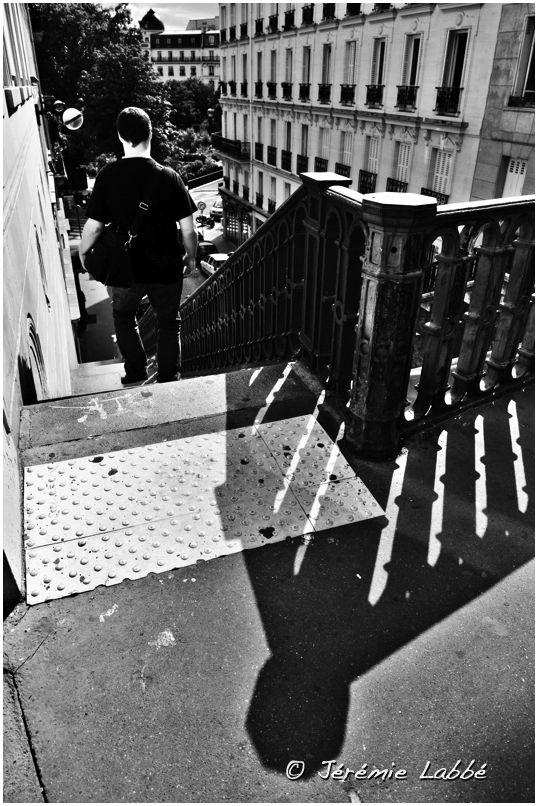 Man in Paris' streets, France