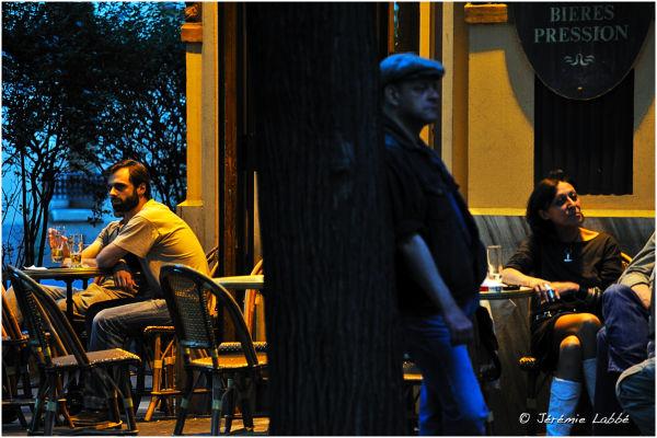 People in a bar, Lamarck-Caulaincourt, Paris