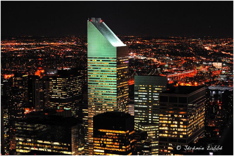 Citycorp skyscrapers in Manhattan, New York