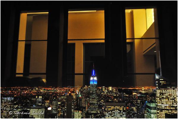 Nexw York's skyline from Rockefeller Centre