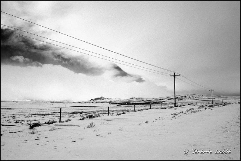 Alongside road 40 in Rocky Mountains, Colorado