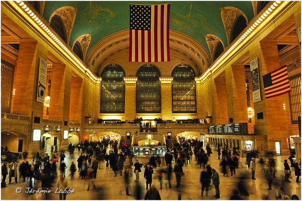 Main hall of Grand Central Station, New York