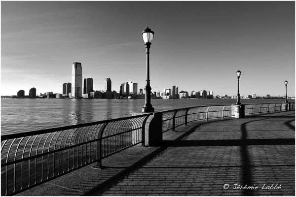 New Jersey City across Hudson River, New York