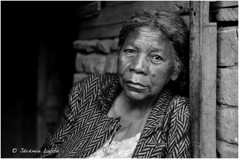 Portrait of an old lady, Antananarivo, Madagascar