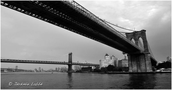 Brooklyn and Manhattan Bridges, New York