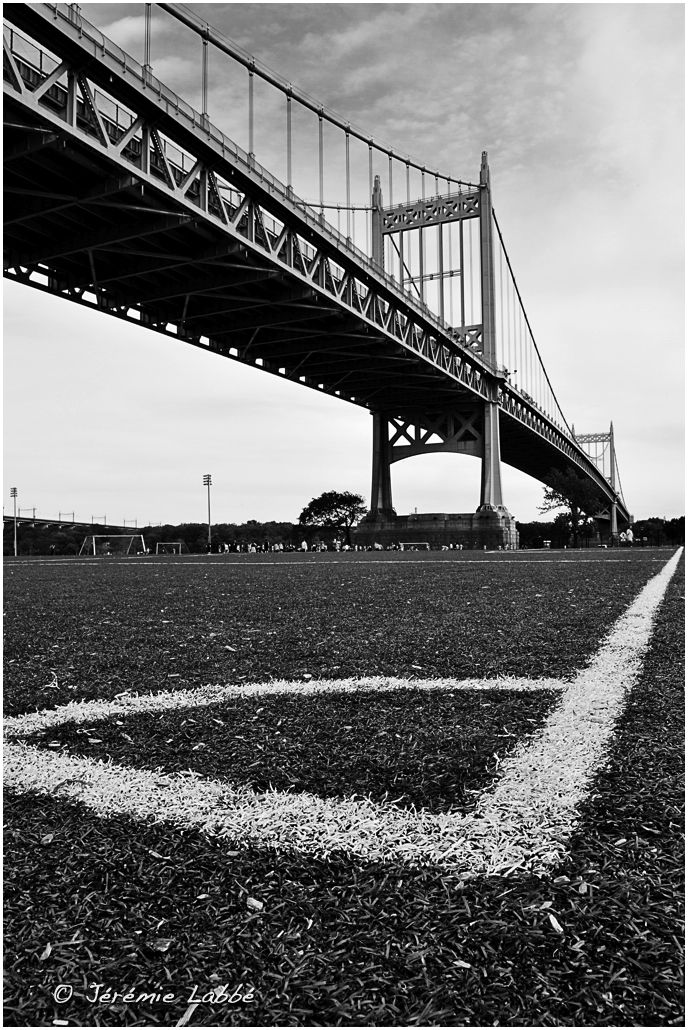 Triborough Bridge from Ward Island, New York