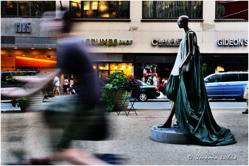 Sculpture on Broadway, New York