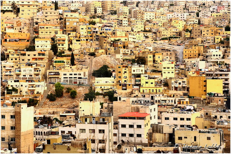 Detail of Amman, Jordan