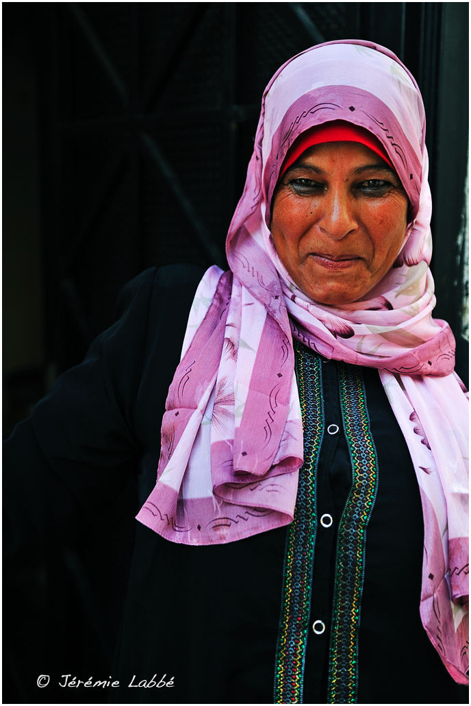 Portrait of woman in Salt, Jordan