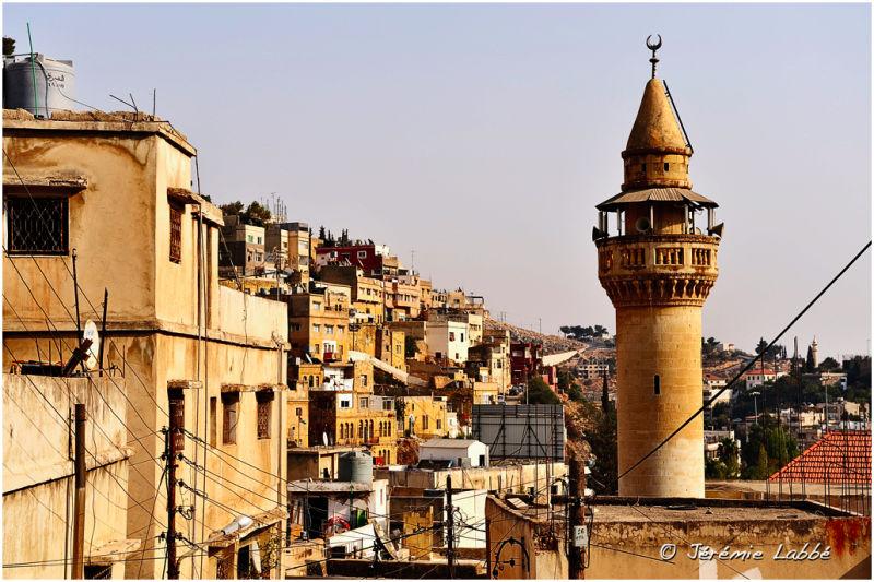 Minaret in Salt city, Jordan