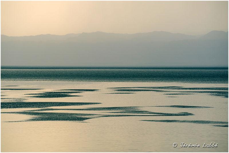 Dead Sea and Palestine shore, Jordan
