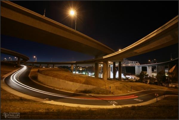 Crockett exit on Interstate 80
