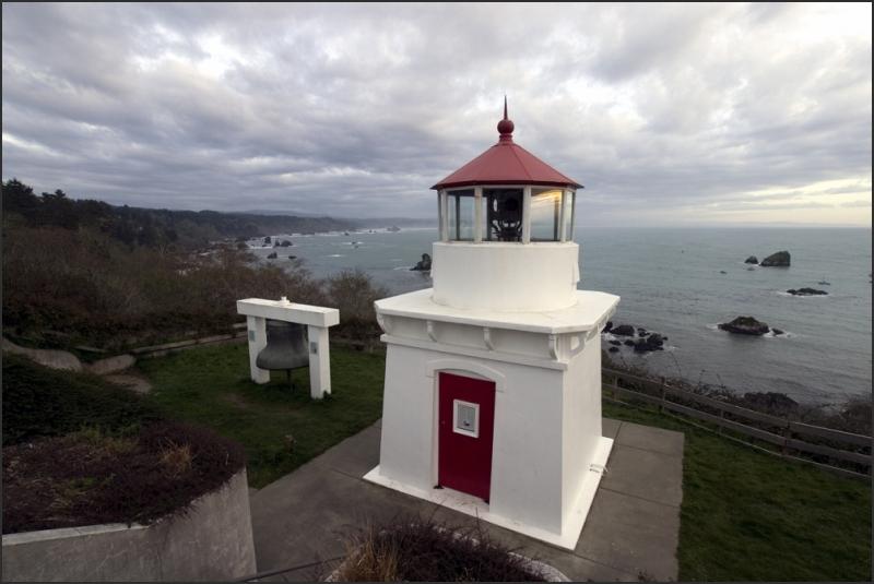 Lighthouse at Trinidad Bay