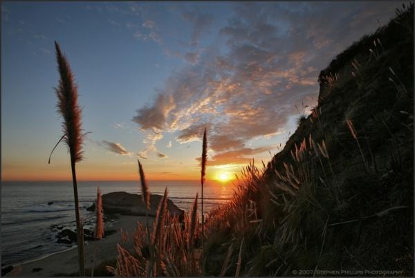 Sunset at Greyhound Rock
