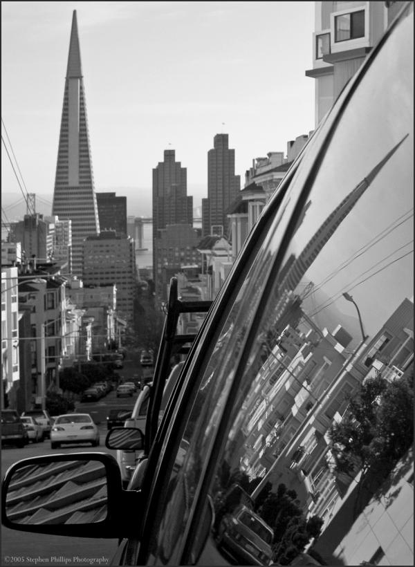 San Francisco reflection