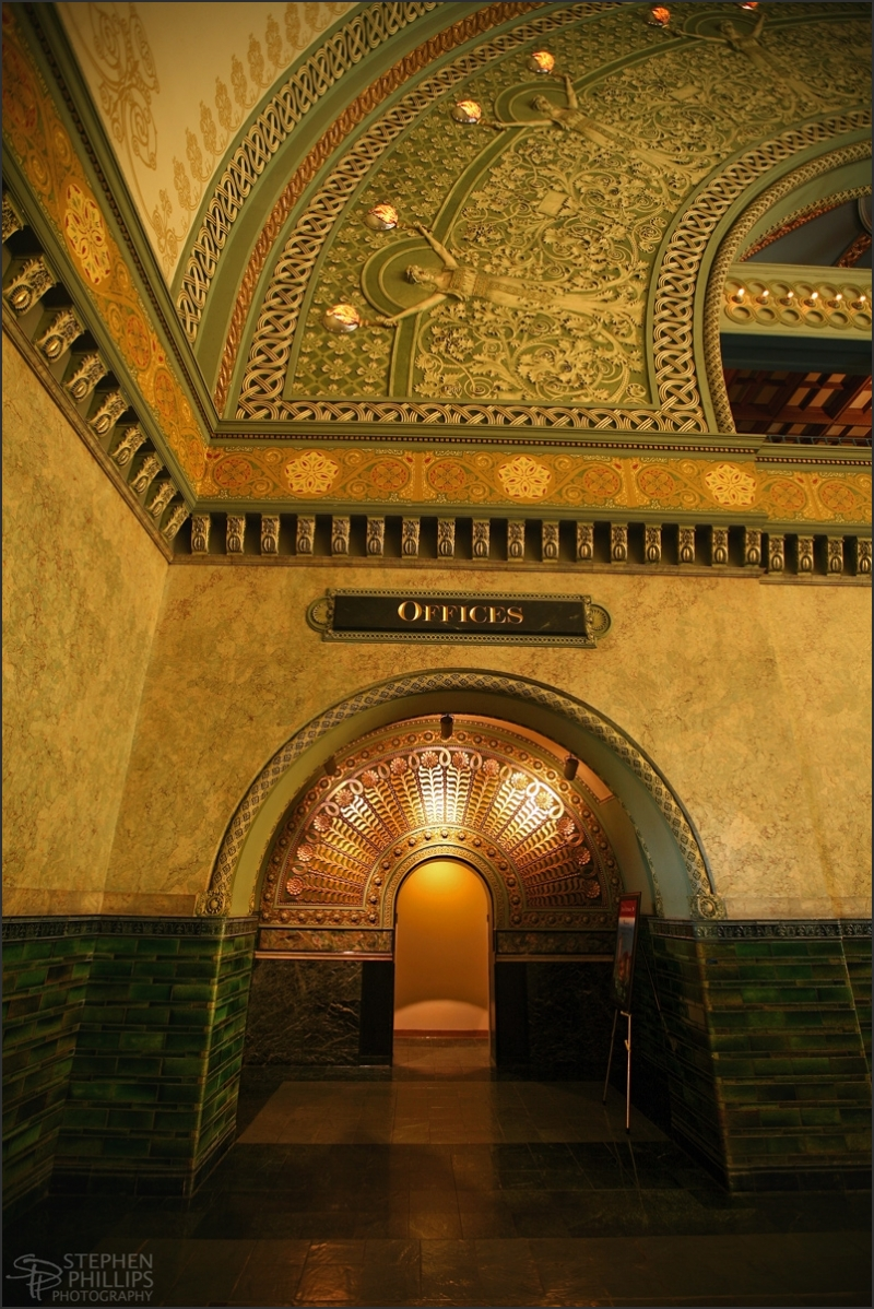 Union Station in St. Louis, MO. detail