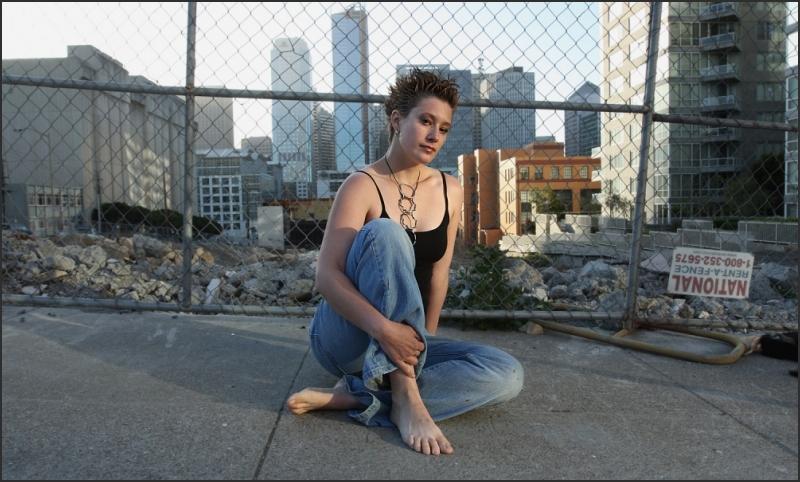 artist Nicole Robins in Curve Magazine
