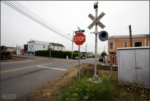 Loleta Main Street - Loleta, California