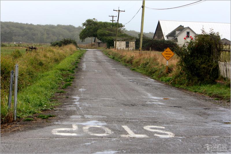 Cannibal Island Drive near Loleta, California