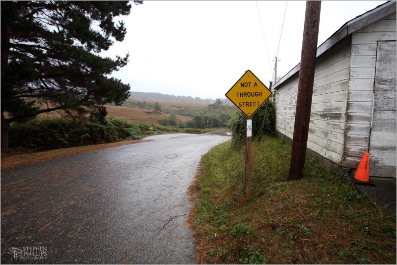 leaving on a dead end street