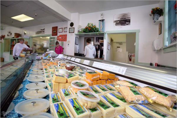 Inside Loleta Cheese Factory