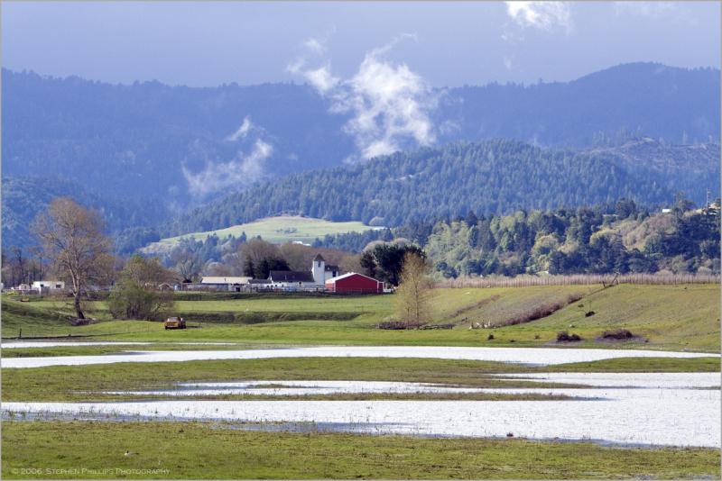 Farm south of Fortuna