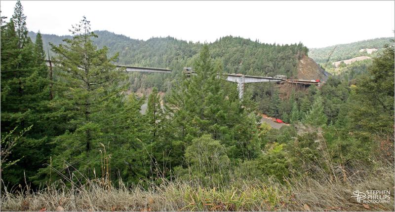 New bridge on Highway 101