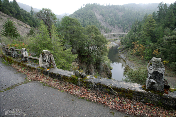 Old Highway 101 through Humboldt County