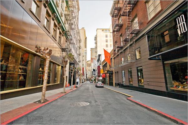 Maiden Lane in San Francisco