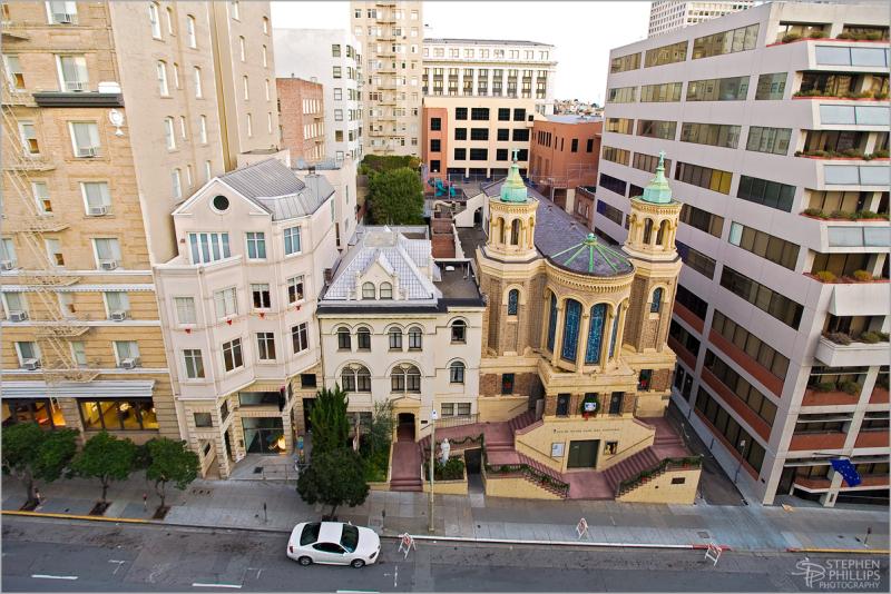Notre Dame des Victoires Church San Francisco