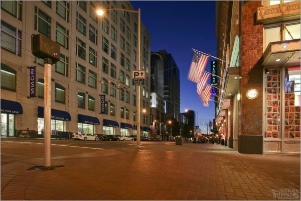 Fourth Street in San Francisco