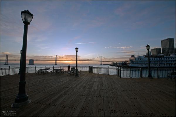 Sunrise at Pier Seven