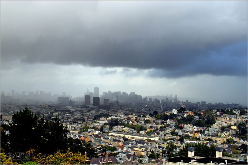 Storm over San Francisco