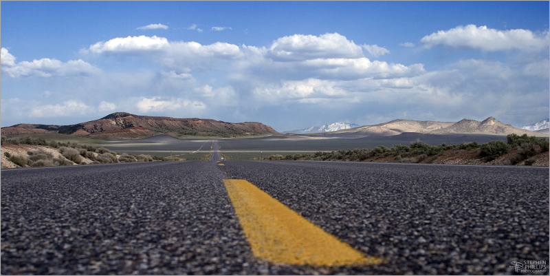 The Loneliest Highway in America - Nevada