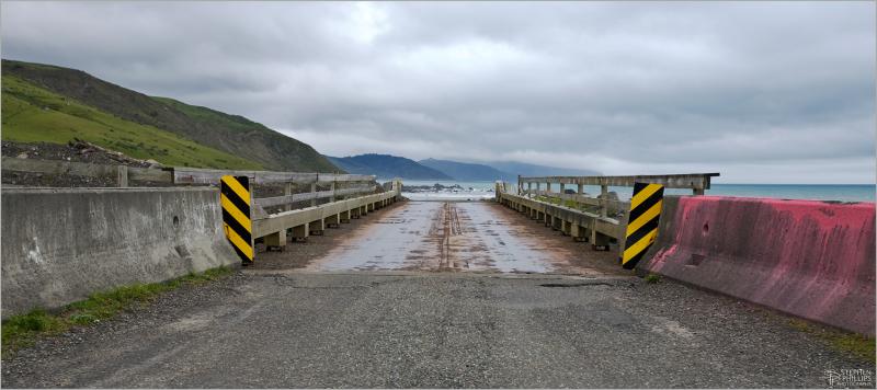 Bridge along The Lost Coast Humboldt California