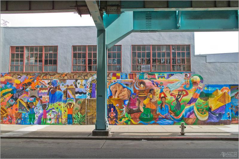 Graffiti South-of-Market in San Francisco