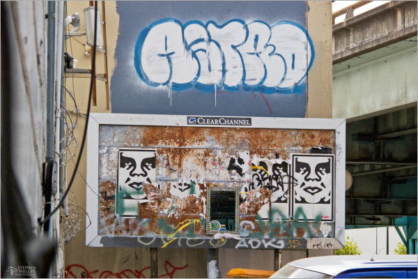Graffiti Billboard South-of-Market San Francisco