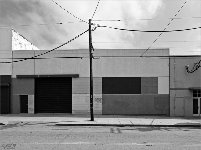 minimalist black & white 12th street San Francisco