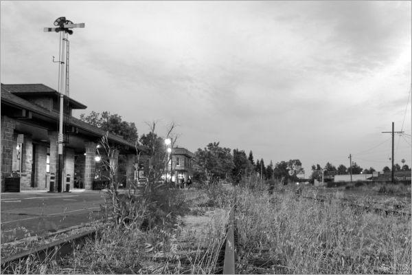 The old santa Rosa Rail Station