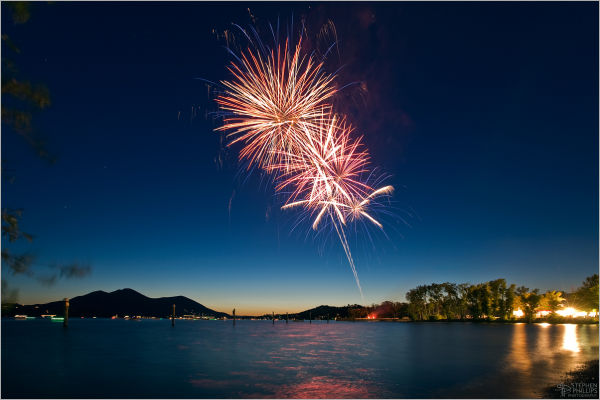 Fourth-of-July celebration Clearlake, California