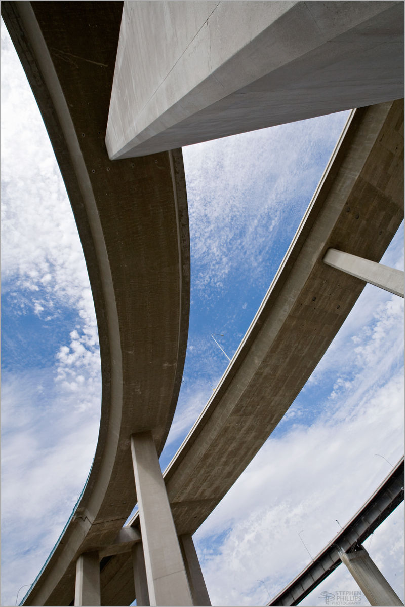 Freeway Interchange at Crocket California