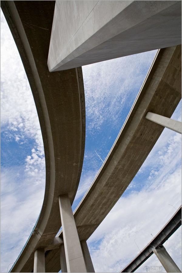 Freeway Interchange at Crocket California