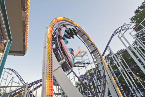 loop roller coaster