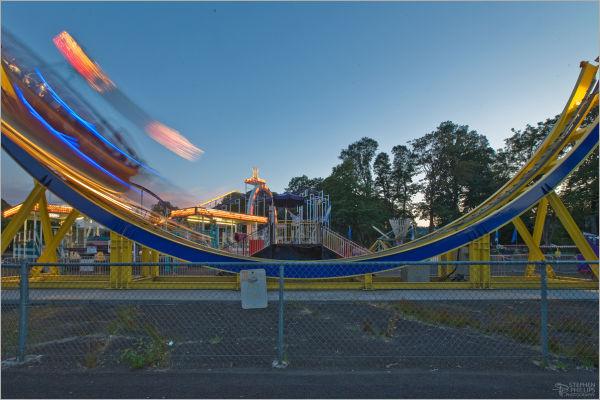 Oaks Park ride Disko Portland Oregon amusement