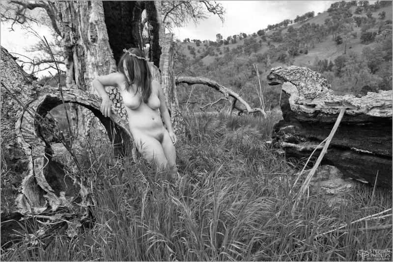 Marissa nude fine-arts-nude canyon study Napa
