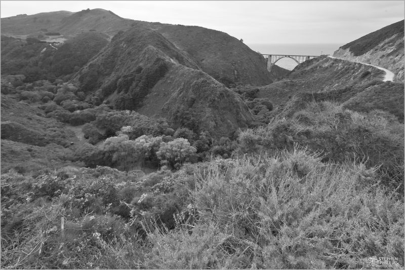 Bixby Canyon Pacific Coast California