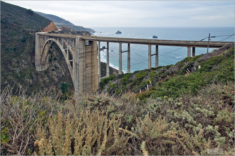 Bixby Bridge California Pacific coast