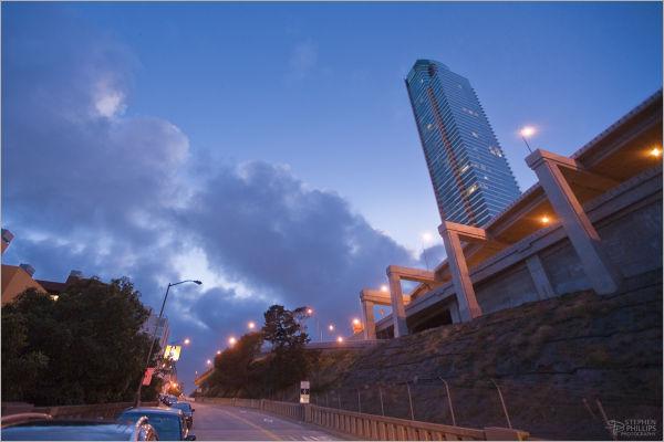 Rincon Towers at Twilight San Francisco