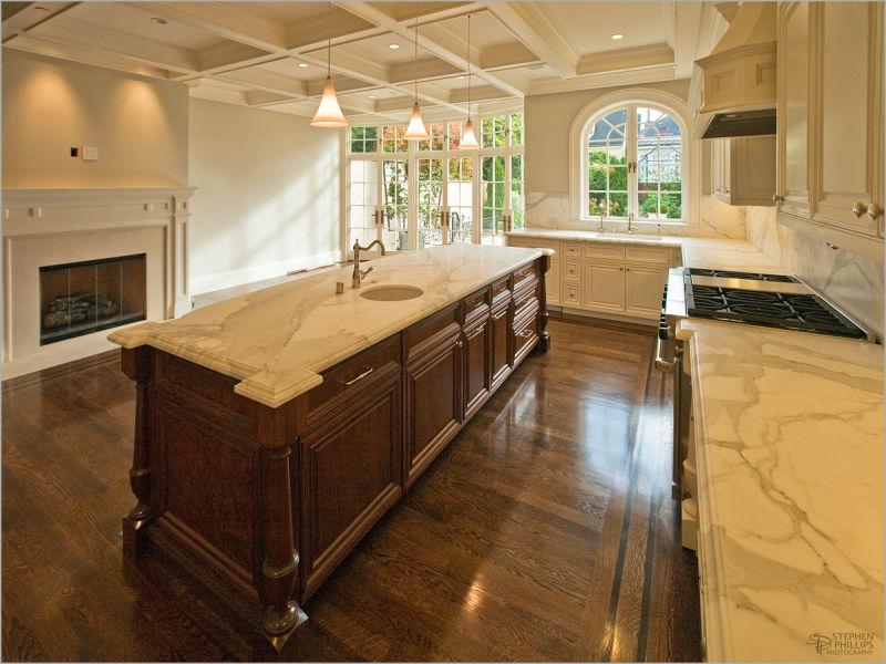 kitchen of a Presidio Heights home San Francisco